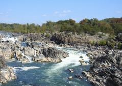 Potomac River at Great Falls Park, Virginia (annette.allor) Tags: potomacriver greatfallspark greatfalls water falls rock rapids
