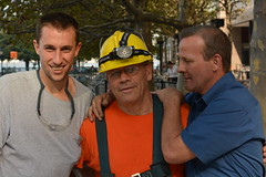 People Who Build New York (billraftery) Tags: new york street people construction workers