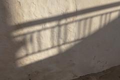 Railing Shadow (josullivan.59) Tags: 2019 agean artistic greece greek greekislands island june sifnos abstract cyclades day detail europe evening islands light lightanddark nicelight old outdoor outside railings shadow shadows summer sunsetlight texture travel wall wallpaper weather