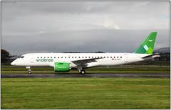 G28A7659FL17 (Gerry McL) Tags: embraer lnwec aircraft airplane regional jet wideroe glasgow scotland gla egpf