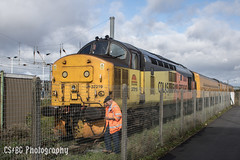 Inspection (CS:BG Photography) Tags: ecml eastcoastmainline testtrain networkrail class37 colas colasrail colasrailfreight tractor 37219 peterborough pbo jontyjarvis