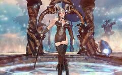 Guardian of the Temple (beccaprender) Tags: elf fantasy elvion catwa catya bento arwenscreations session rose go