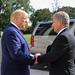 President Trump bids farewell to the President Niinistö