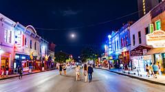 DowntownAustin_111 (allen ramlow) Tags: austin texas 6th sixth street downtown city lights people sony alpha illuminated
