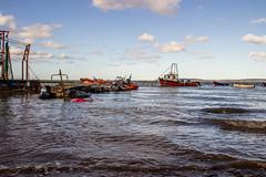 2019 - 10 - 02 - EOS 600D - Local Fishing Boats - Bettisfield - Wales Coast Path - 002 (s wainwright) Tags: 2019 october walescoastpath bettisfield flintshire flintshirescoast northwalescoast northwales newales canon600d eos600d