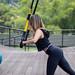 TRX Exercise push-ups