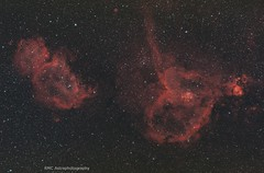 IC 1805 & 1848 (sparkdawg068) Tags: space nebula stars weather zwo