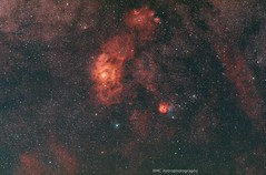 M8 & M20 (sparkdawg068) Tags: space nebula stars weather zwo