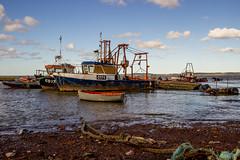 2019 - 10 - 02 - EOS 600D - Local Fishing Boats - Bettisfield - Wales Coast Path - 000 (s wainwright) Tags: 2019 october walescoastpath bettisfield flintshire flintshirescoast northwalescoast northwales newales canon600d eos600d