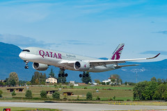 A7-ALE (FlugZüge) Tags: qatar a359 airbus qtr gvaboisbrule