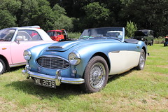 Austin Healey 100-6 WIL2639 (Andrew 2.8i) Tags: show automobile auto voiture cars car classics classic carmarthenshire arms bronwydd day transport railway gwili british sports sportscar bmc open cabriolet convertible roadster 1006 austinhealey wil2639