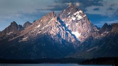 Morning on the Teton Range (PrevailingConditions) Tags: tetons tetonsnationalpark grandtetons mountains sunrise landscape nature lake