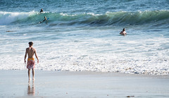 Teenage Boy on the Beach -  Laguna Beach, California (ChrisGoldNY) Tags: chrisgoldphoto chrisgoldny chrisgoldberg bookcovers albumcovers licensing sony sonyalpha sonya7rii sonyimages lagunabeach california socal cali orangecounty laguna westcoast teenager teens boys beach beaches kids pacific water ocean