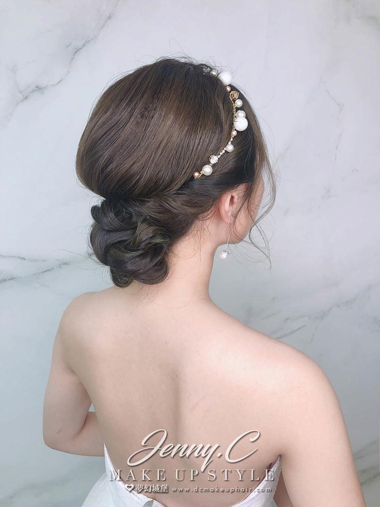 【新秘蓁妮】新娘造型創作 / 氣質盤髮