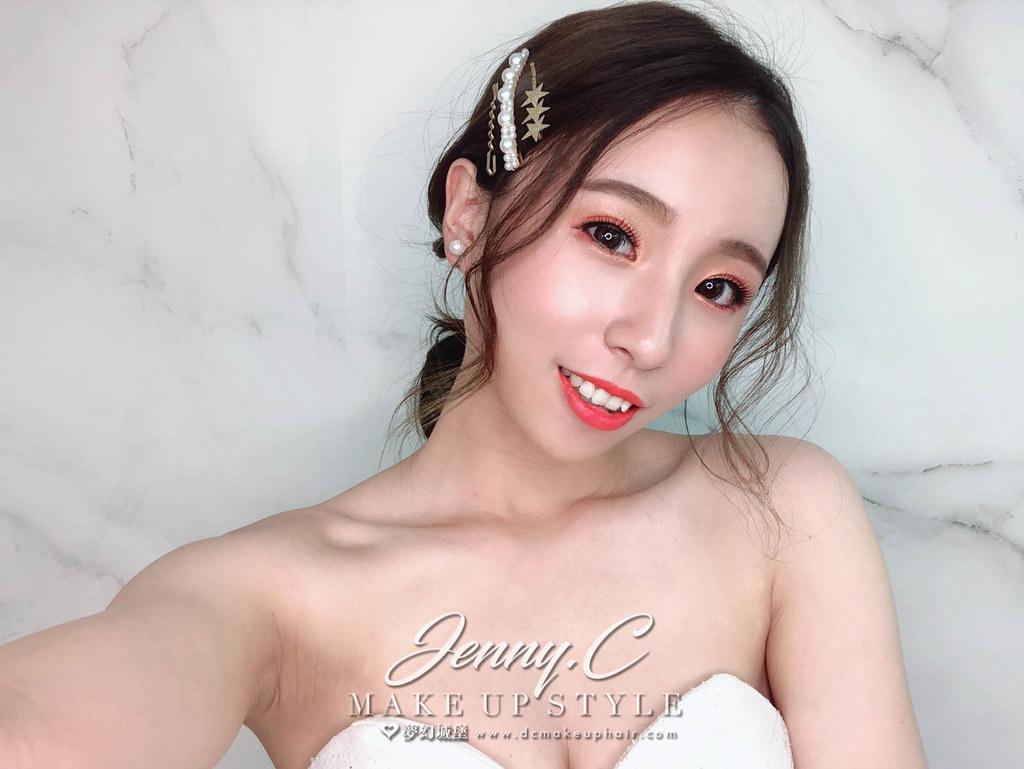 【新秘蓁妮】新娘造型創作 / 唯美低馬尾