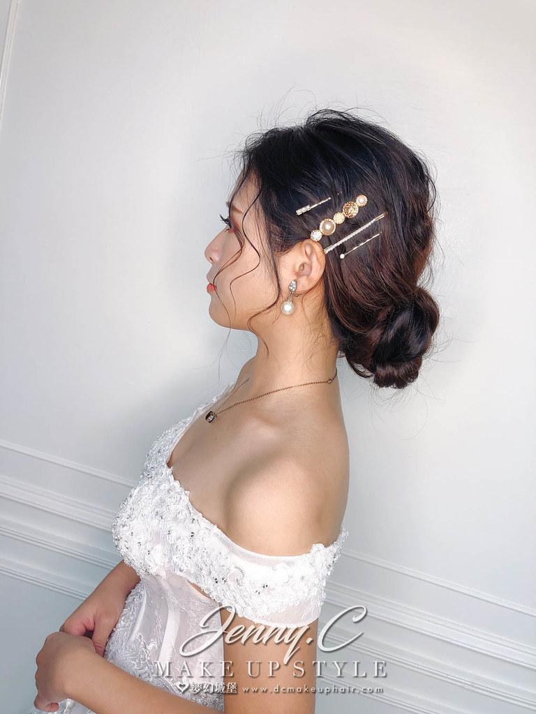 【新秘蓁妮】新娘造型創作 / 韓系盤髮