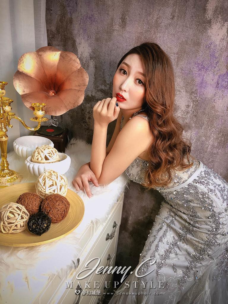 【新秘蓁妮】新娘造型創作 /  女神性感造型