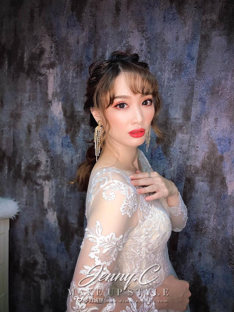 【新秘蓁妮】新娘造型創作 /  唯美公主