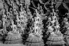 Buddha Images at Buranathai Foundry (Goran Bangkok) Tags: bw buddha buranathai foundry phitsanulok workshop thailand blackandwhite blackwhite buddhism religion happyplanet asiafavorites fuji xt3