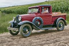 Ockenfels Delivery!   .......HTT! (jackalope22) Tags: htt truck ford red 30s driver