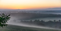 before she rises (Woewwesch) Tags: sunrise outdoor earlymorning early morning walk stilldark misty hills eifel ahrtal september latesummer sony sonyalpha ilce6000