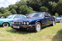 Jaguar XJ Sport R710FRT (Andrew 2.8i) Tags: show automobile auto voiture cars car classics classic carmarthenshire arms bronwydd day transport railway gwili british saloon sedan luxury executive xj8 x308 sport xj jaguar r710frt