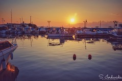 Summer Memories 2019 (Stathis Iordanidis) Tags: sun romanticsunrise port harbour boats greece travelling summer traveldestinations transportation serenity tranquility silence waves