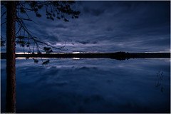 The Lake - Blue Hour (niggyl (having a short break)) Tags: suomi finland centralfinland jyväskylä myhinpääntie lakevhvanen nikcollection colorefexpro4 colorefexpro lumenzia breathtakinglandscapes landscape lake reeds sundown clouds reflection abstract bluehour water ripples fujifilm fujifilmxt1 fujixt1 xt1 samyang samyang12mmf2 samyang12mm rokinon rokinon12mmf20ncscs samyang12mmf20ncscs samyangcsc12mmf20ncscs longexposure theethereallongexposure leefilters longexposurephotography