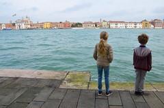 The Kids On Giudecca (Joe Shlabotnik) Tags: italia giudecca italy 2019 violet everett canal april2019 venice venezia afsdxvrzoomnikkor18105mmf3556ged