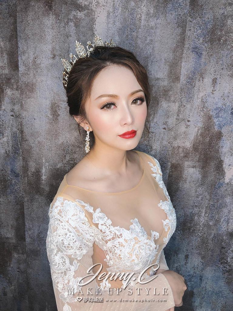 【新秘蓁妮】新娘造型創作 / 華麗公主