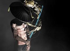 Slayer †858 (✞Takeo Tanaka✞) Tags: air sougyo gacha hat fish wzero kanatan taoxtattoo kaoru tattoo vendetta vendettaskins cham skins neo neojapan neoevent neojapansl