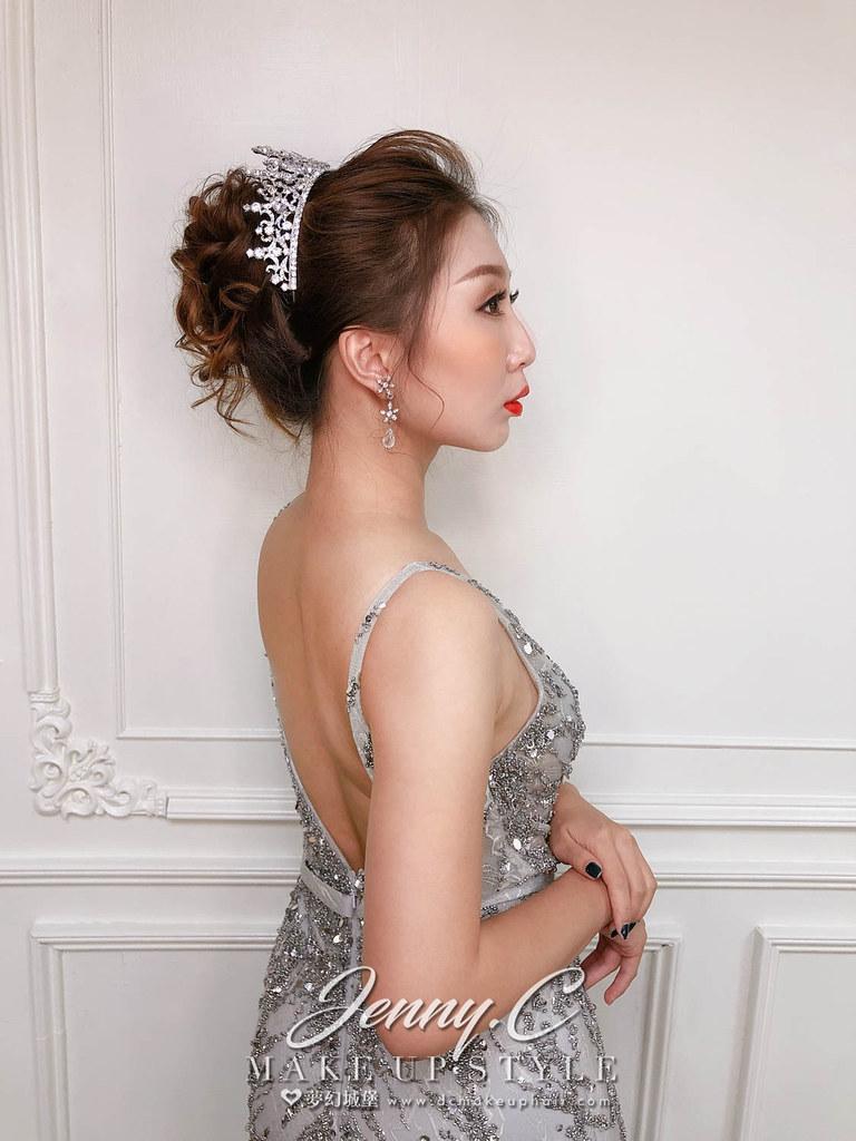 【新秘蓁妮】新娘造型創作 /  奢華歐風造型