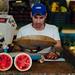 Man Selling Watermelons, Havana Cuba