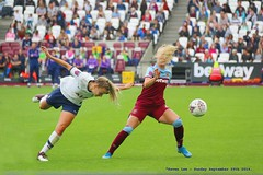 West Ham Women V Tottenham Women ~ Olympic Stadium ~ London ~ Sun Sep 29th 2019 (law_keven) Tags: westhamwomen ladies women football londonstadium sport sportphotography photography alishalehmann westham