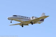 CS-DQA - 2008 build Cessna 560XLS Citation Excel, on approach to Runway 13 at Valley (egcc) Tags: 5605798 bizjet csdqa ce560xls cessna cessna560xls citation citationxls egov excel lightroom n5157e nje netjets netjetseurope rafvalley vly valley