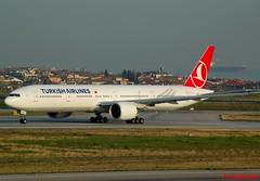 TURKISH AIRLINES B777 TC-LJA (Adrian.Kissane) Tags: 777 aviation runway departing turkey sky outdoors boeing airport airline airliner jet plane aeroplane aircraft 44121 942018 b777 tclja ataturk istanbul turkish
