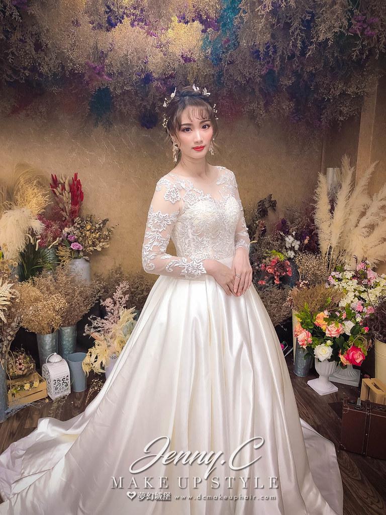 【新秘蓁妮】新娘造型創作 /  仙女夢幻造型