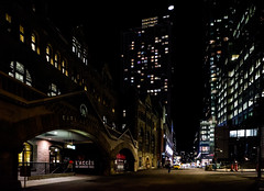 Good morning, Montreal (MikeTheExplorer) Tags: montreal quebec canada northamerica train traveling traveler travelling travel traveller wanderlust explore discover fujifilmxt100 camera composition fujifilm night nightphotography streetphotography urbanphotography city architecture