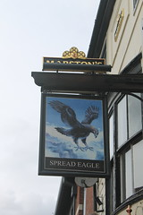 Spread Eagle, York (Marston's) (Ray's Photo Collection) Tags: pub york sign spreadeagle marstons north yorkshire yorks publichouse