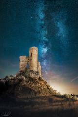 Pelegrina Castle (jesbert) Tags: pelegrina castle castillo noche nocturna via lactea milky way night jesbert rodriguez