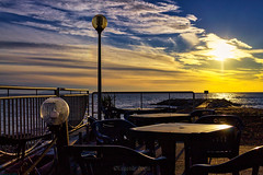 Andalù (Eugenio GV Costa) Tags: approvato sunset sea cielo sky mare cloud cloudy sole outside