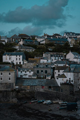 Port Isaac (Elliot Bick) Tags: uk autumn sea england port boat cornwall sony isaac sonyalpha blue light colour water rural photography photo europe dusk lightroom alphaseries a7rii