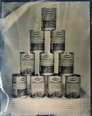 chopped toms (fitzhughfella) Tags: tintype tinplate wetplatecollodion wetplate collodion ether silvernitrate largeformat 4x5 graflexspeedgraphic kodakaeroektar vintage victorianphotography