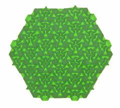 FERRIS WHEEL TESSELLATION (mganans) Tags: origami tessellation