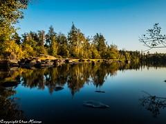 Djupasjön 092019 02 (U. Heinze) Tags: schweden sverige sweden smaland himmel sky herbst wasser see lake landschaft nature natur olympus omd em1markii panasonic 818mm