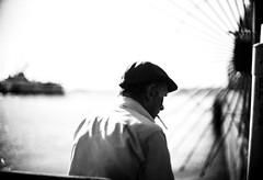 The Boat Afar (Metin Colak) Tags: turkey istanbul bosphorus boat water sea portrait street monochrome baudelaire solitude lonely