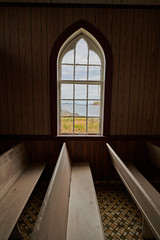 Church by the sea (PRS Images) Tags: old church hillgrade window interior weeklytheme flickrlounge