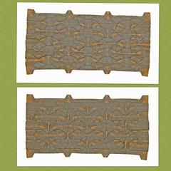 RHOMBUS AND TRIANGLE BELT TESSELLATION (mganans) Tags: origami tessellation