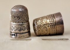 Thimbles (linda.addis) Tags: flickrlounge weeklytheme old