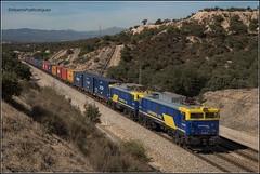 Monte del Pardo. (pazalberto269) Tags: nikon natural trainspotting tracks trainspotter tren teco continental rail madrid spain photography d500